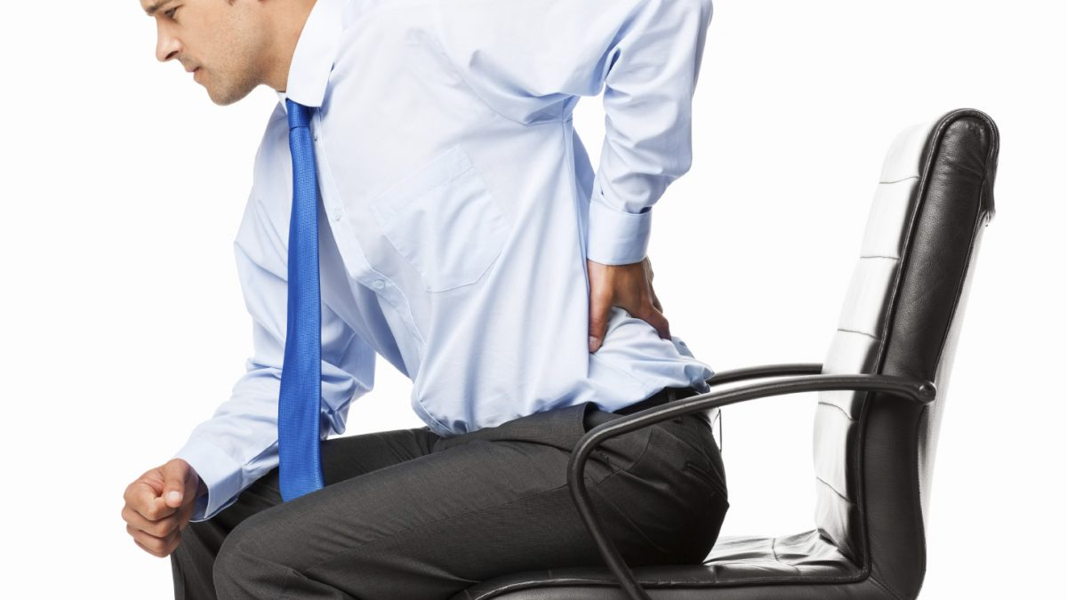 back pain from office chair
