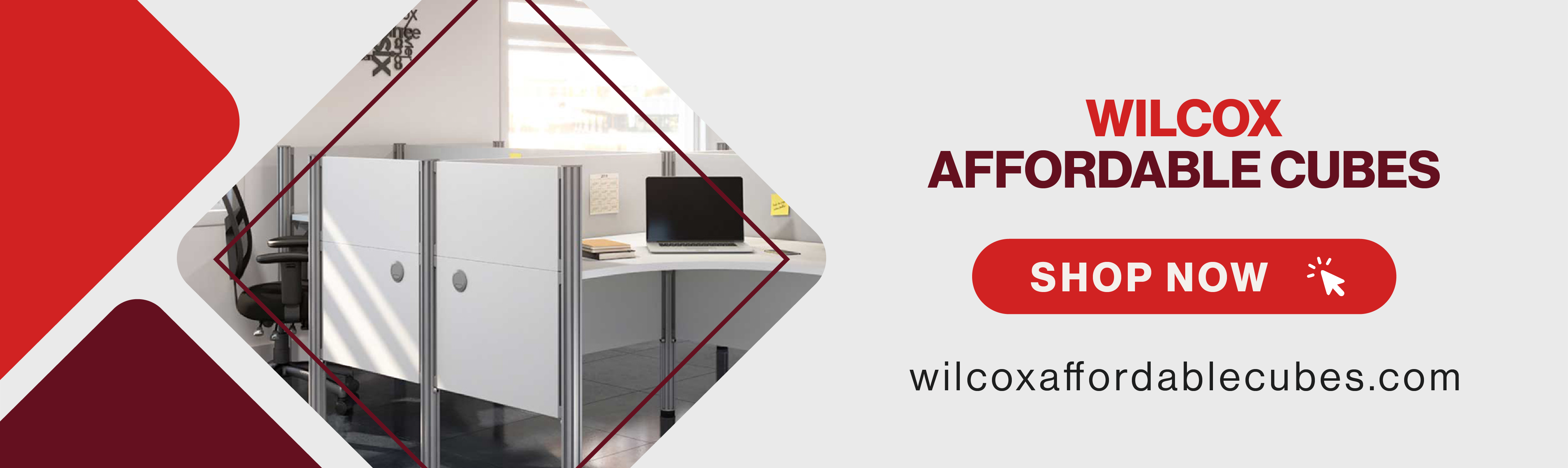 Wilcox Affordable Cubes Banner_Banner